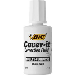 288 Units of BIC WOC12 Multipurpose Correction Fluid - Office Supplies