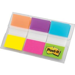 "Post-it 1"" Alternating Electric Glow Flags - Flag"