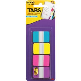 "Post-it 1"" Solid Color Self-stick Tabs - Office Supplies"
