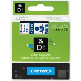 Blue on White D1 Tape - Tape & Tape Dispensers