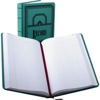Boorum & Pease Boorum 66 Series Blue Canvas Record Books - Record book