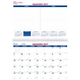 87 Units of Brownline 16-Month Monthly Wall Calendar - Calendar