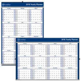 31 Units of Brownline Laminated Yearly Wall Calendar - Calendar