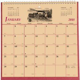 62 Units of Brownline Monthly Wall Calendar - Calendar