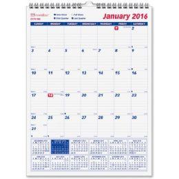 33 Units of Brownline Monthly Wall Calendar - Calendar