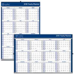 48 Units of Brownline Yearly Wall Calendar - Calendar