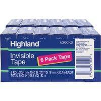 Highland Matte-finish Invisible Tape - Tape & Tape Dispensers