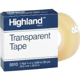 Highland Transparent Tape - Tape & Tape Dispensers