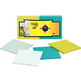 84 Units of Post-it 3x3 Super Sticky Full Adhesive Notes - Adhesive note