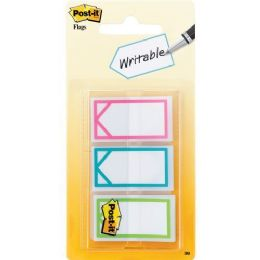 "Post-it Assorted Colors 1"" Writable Flags - Flag"
