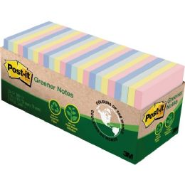 Post-it Greener Notes in Sunwashed Pier Colors - Office Supplies