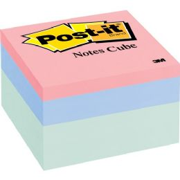 120 Units of Post-it Purple Passion Pastel Note Cube - Adhesive note