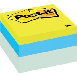 Post-it Ribbon Candy Note Cube - Adhesive note