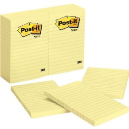 Post-it Ruled Adhesive Note - Adhesive note