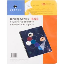 Sparco Standard Round Corner Presentation Cover - Office Supplies