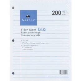Sparco Standard White Filler Paper - Paper