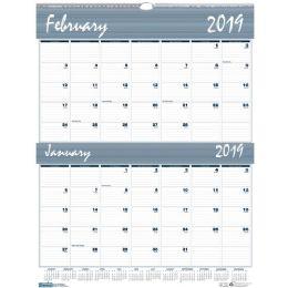 10 Units of House Of Doolittle Bar Harbor Blue/gray 2-Mth Wall Calendar - Calendar