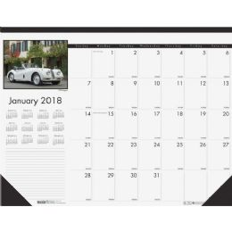 14 Units of House Of Doolittle Classic Cars Calendar Desk Pad - Calendar