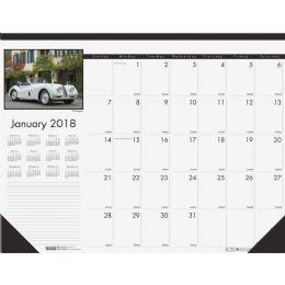 House Of Doolittle Classic Cars Calendar Desk Pad - Calendar