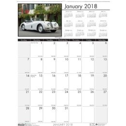 16 Units of House Of Doolittle Classic Cars Wall Calendar - Calendar
