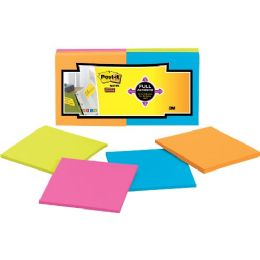 Post-it Super Sticky Full Adhesive Note - Adhesive note