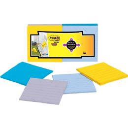 Post-it Super Sticky Full Adhesive Note Pads - Adhesive note