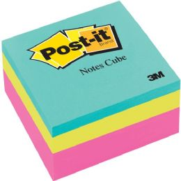 PosT-It Ultra Collection Convenient Memo Cubes - Adhesive note