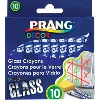 84 Units of Prang Decor Glass Crayons - Crayon
