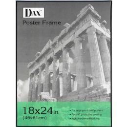 Burnes Black U-Channel Poster Frame - Poster