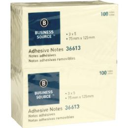 Business Source Adhesive Note - Adhesive note