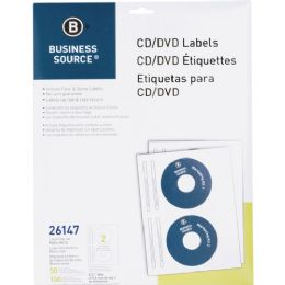 420 Units of Business Source Cd/dvd Laser/inkjet Label - Labels