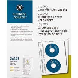 Business Source Cd/dvd Laser/inkjet Label - Labels