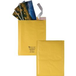 10 Units of Quality Park RedI-Strip Bubble Mailers With Labels - School and Office Supply Gear