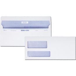 5 Units of Quality Park Reveal-n-Seal Double Window Envelopes - Envelopes