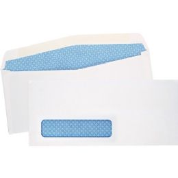 5 Units of #8 5/8 Double Window Security Tinted Check Envelopes, Gummed Closure - Envelopes
