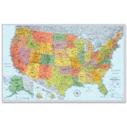 Rand Mcnally U.s. Wall Map - Office Supplies