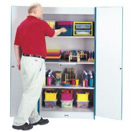 Rainbow Accents Classroom Closet Deluxe - Yellow - Teachers