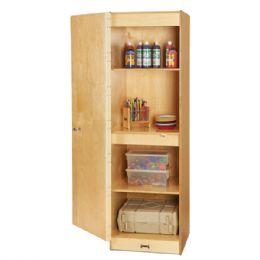 JontI-Craft Single Storage Cabinet - Teachers