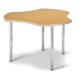 """Berries Collaborative Hub Table - 44"""" X 47"""" - Oak/gray - Berries"""