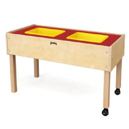 Jonti-Craft Toddler 2 Tub Sensory Table - Tables
