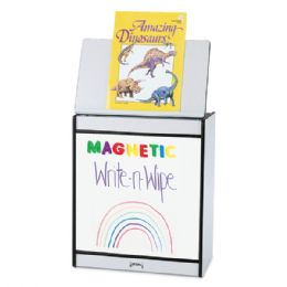 Rainbow Accents Big Book Easel - Magnetic WritE-N-Wipe - Purple - Literacy