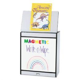 Rainbow Accents Big Book Easel - Magnetic WritE-N-Wipe - Teal - Literacy