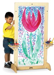 Jonti-Craft See-Thru Easel - Art