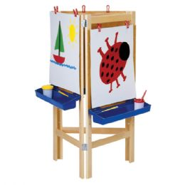 Jonti-Craft 3 Way Adjustable Easel - Art