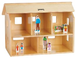 Jonti-Craft KYDZ Doll House - Block Play