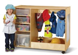 JontI-Craft DresS-Up Center With Bins - Dramatic Play