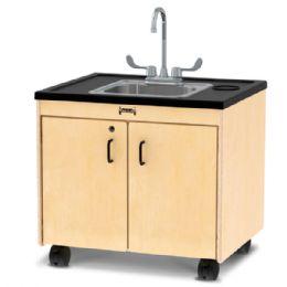 """JontI-Craft Clean Hands Helper - 26"""" Counter - Stainless Steel Sink - Teachers"""