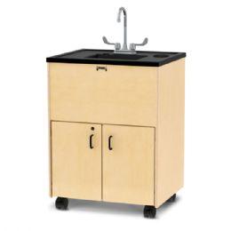 "JontI-Craft Clean Hands Helper - 38"" Counter - Plastic Sink - Teachers"