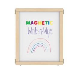 "KYDZ Suite Panel - E-height - 24"" Wide - Magnetic Write-n-Wipe - KYDZ Suite"