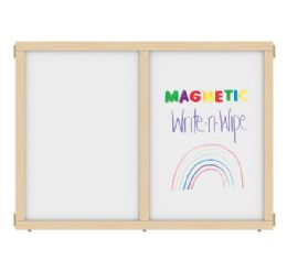 """KYDZ Suite Panel - A-height - 48"""" Wide - Magnetic Write-n-Wipe - KYDZ Suite"""